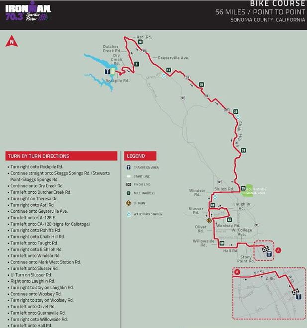IMSR 70.3 bike course